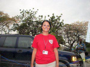 Kate Auger, Haiti