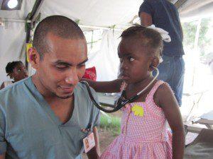 Rashad Chin, Stethoscope, child, Haiti