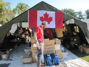 CMAT's Field Clinic in Léogâne, Haïti, January - March 2010.