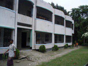 Community center in Gopalganj where CMAT medical teams will set up a medical clinic.