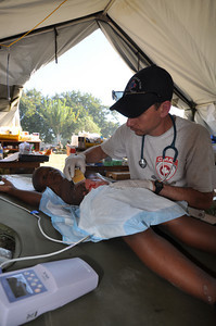 CMAT Volunteers hard at work.