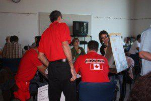 CMAT Volunteers attend annual training in regions across Canada