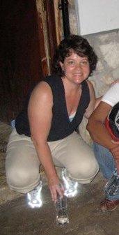 CMAT Volunteer Jeanne LeBlanc, in Haiti 2010.
